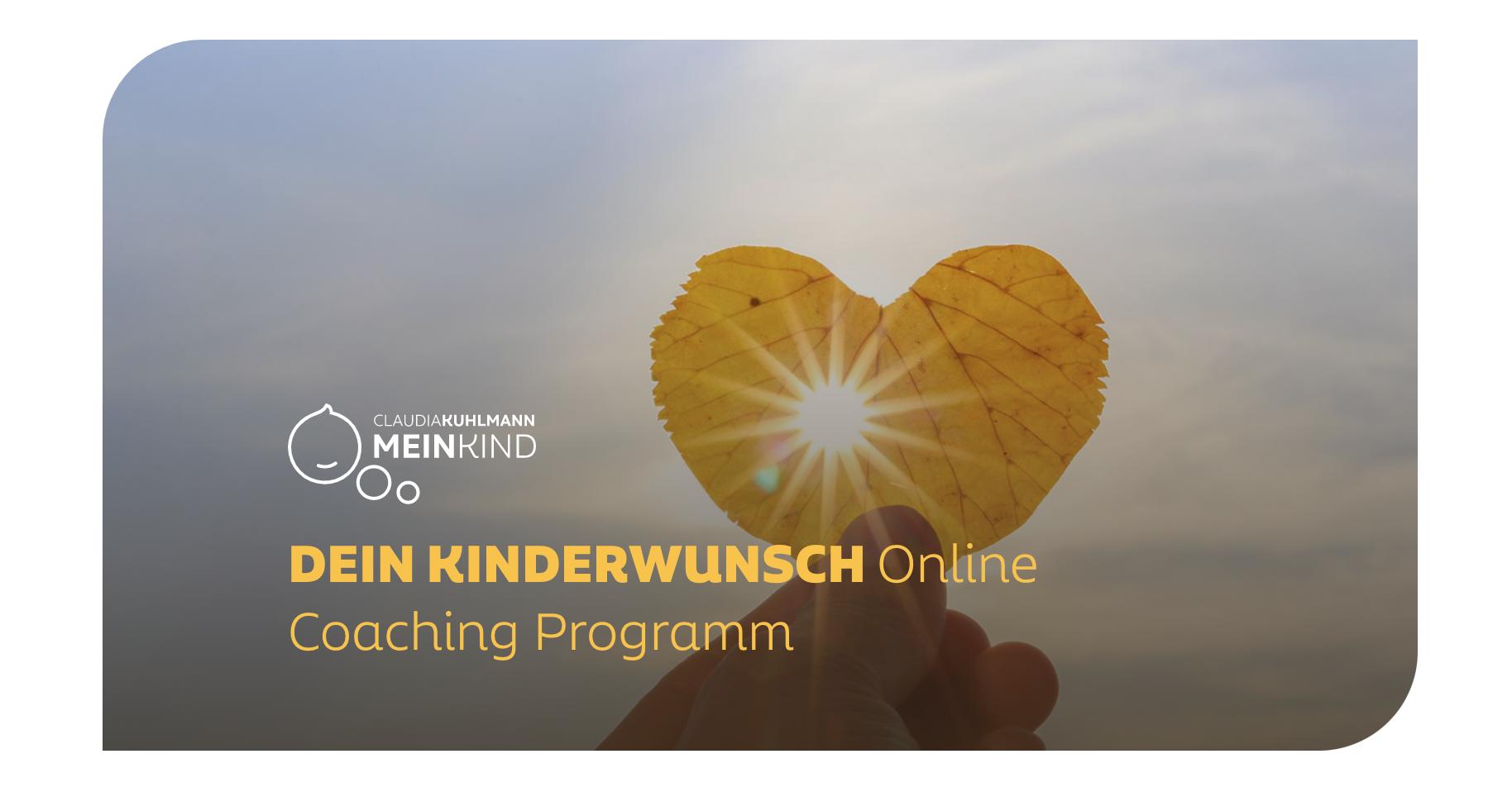 Kinderwunsch Online Programm